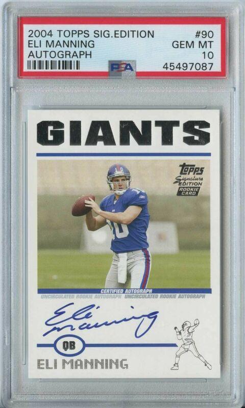 2004 Bowman Eli Manning RC Giants #111