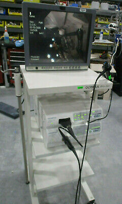 Olympus Visera Otv-s7-pro Processor Clv-s40-pro Cyf Type V2 Cysto Monitor