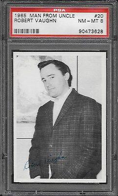 Psa 8 1965 Man Fron Uncle  20 Robert Vaughn