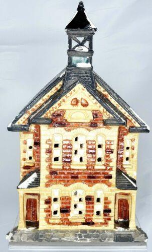 Dept. 56 Lighted Town Hall Christmas Village House 1984 50008 Rare