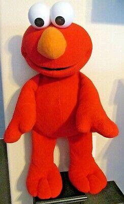 "BIG BOOK ELMO JUMBO 30"" Plush Toy Sesame Street Fisher Price 2002B3398 LARGE"