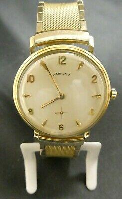 Hamilton Men's Mechanical Watch 10K Gold Filled