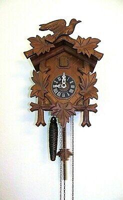 A SCHNEIDER Vintage West Germany Cuckoo Clock ~ Works Great!