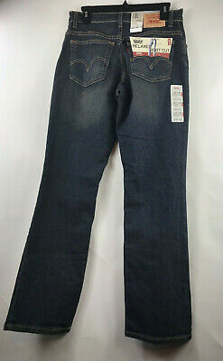 Levis 550 Relaxed Fit Boot Cut 8 M Stretch Womens Jeans Blue NWT $40 Levis Relaxed Fit Bootcut Jeans