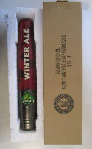 Brand-New Summit Winter Ale Beer Tap Handle