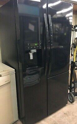Kenmore 51839 Side By Side Black Refrigerator With Grab n Go Door