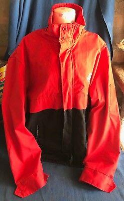 Coca-Cola Coke Riverside Flexbac Employee Uniform Coat Jacket Sz XL 46-48 Long
