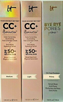 IT Cosmetics Your Skin But Better! CC+ Illumination Color Correcting With SPF 50