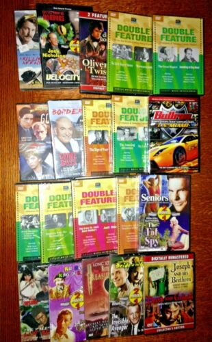 dvd lot of new unopened classic 20 Movies (1)