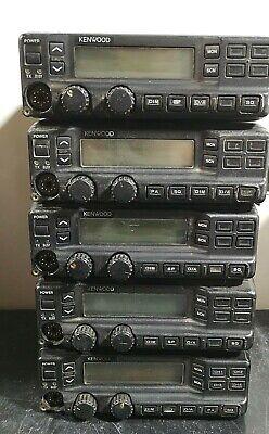 Lot Of 5 - Kenwood Tk-790 Radio Dc 13.6v 12a Vhf Fm Transceiver Radio -as Is