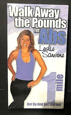 Walk Away the Pounds for ABS~ Leslie Sansone High Calorie Burn 1 Mile~VHS