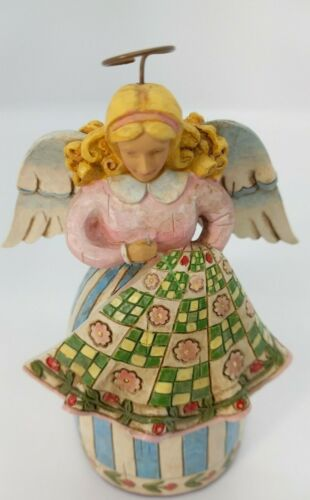 Jim Shore Stitch and Sew Till You're Aglow #4008178 Angel 2006