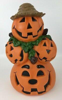 Animated Halloween Pumpkins (Animated Halloween Stacked Pumpkins Sound Activated Jack-o-Lanterns)
