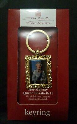 Queen Elizabeth Keyring