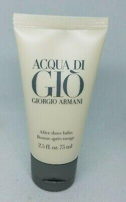 NIOB Acqua Di Gio Giorgio Armani After Shave 2.5 Fl Oz 75 Ml For Men