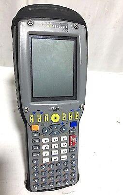 Psion Teklogix 7535 G2 58-key Grey Key Round Laser Tekterm Gun Range Scanner