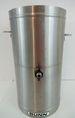 Used Bunn Tdo-4 Commercial Iced Tea Dispenser 4 Gallon No Nozzle No Lid