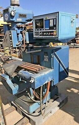 Lagun Matic 110 Cnc Milling Machine Dynapath System 10 Cnc