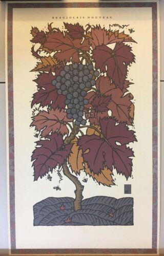 Wine Poster, Monterey Carmel Beaujolais Nouveous Festival 14 1/4 X 23 3/4