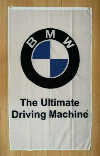 BMW 3x5 ft Flag Indoor/Outdoor Banner M M3 M5 Racing