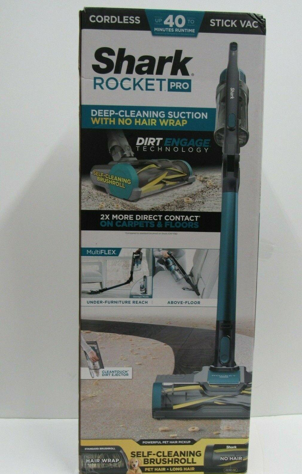 NEW Shark Rocket Pro Cordless Stick Vac Vacuum IZ140 blue FA