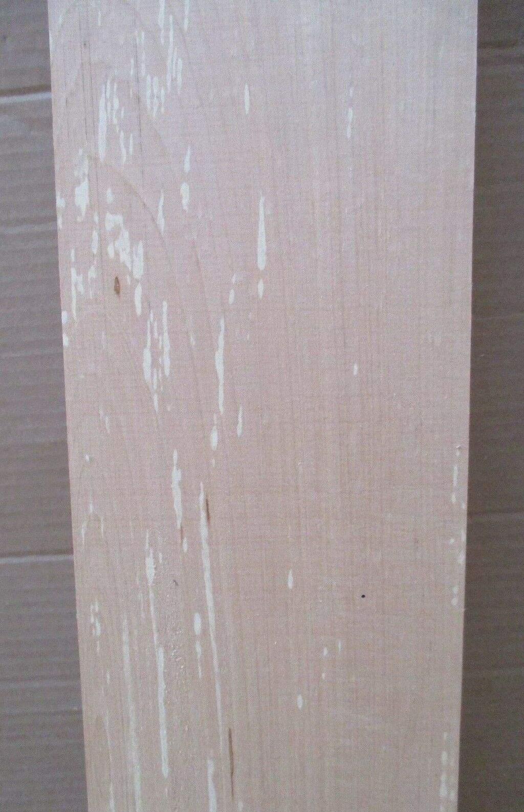 AD Spalted Basswood American Linden Wood Carving Craft Item