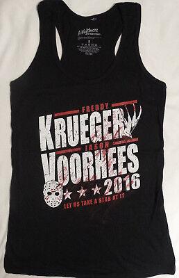 Nightmare Elm Street Freddy Krueger Jason Voorhees Horror Movie Tank Top Shirt - Freddy Krueger Top