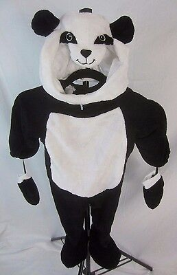 Spirit Panda Bear Plush Unisex Black White Halloween Costume 12-24 Mo. - CX9 - Panda Bear Halloween Costume