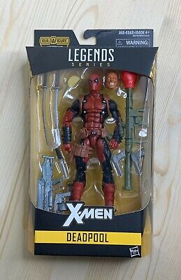 Marvel Legends Deadpool action figure Juggernaut BAF Series X-Men Wade Wilson