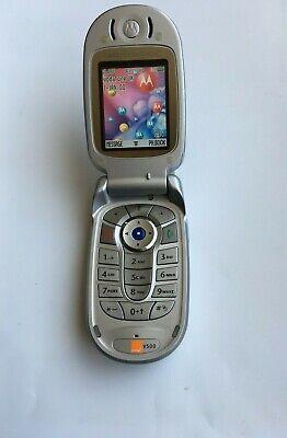 MOTOROLA V500 PHONE FLIP CAMERA PHONE *BLUETOOTH*QUADBAND*UNLOCKED*