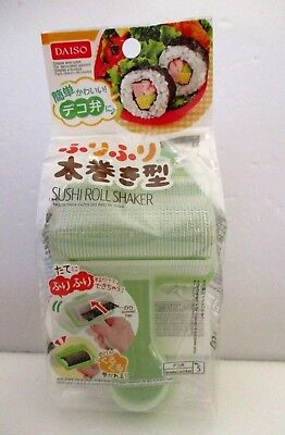 DAISO JAPAN  Lunch box Decoration Bento SUSHI Roll Shaker FUTOMAKI NORIMAKI  Bento Sushi
