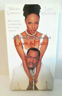 A Thin Line Between Love and Hate (VHS, 1996)