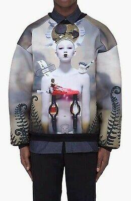 Juun J men's neoprene Robot print sweater size M RRP 850 $ SOLD OUT