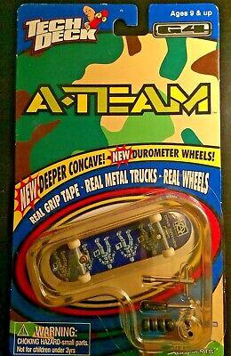 Vintage A-Team Tech Deck Skateboard Generation 4 Unopened! Dave Mayhew