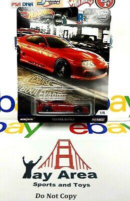 2020 Hot Wheels Premium Car Culture Cruise Boulevard Toyota Supra Real Riders