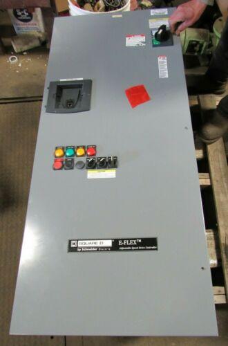 SQUARE D E FLEX 50 HP ADJUSTABLE SPEED DRIVE CONTROLLER B07B08O09X09