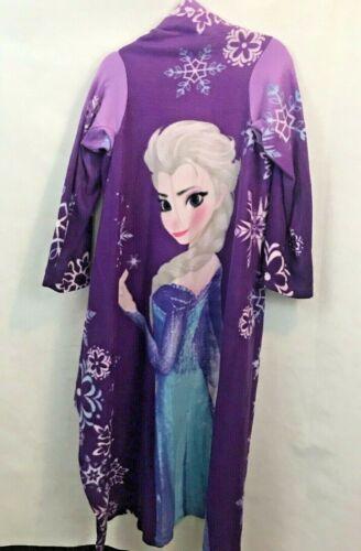Snuggie Wearable Blanket Kids Youth Girls Disney Frozen Elsa Purple