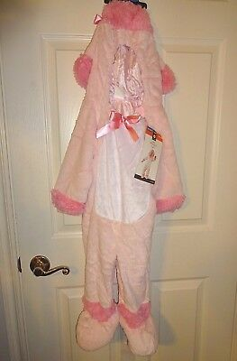 NEW Toddler Infant Kids Adorable Pink Poodle Jumpsuit Halloween Costume NWT](Infant Pink Poodle Costume)