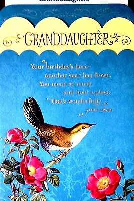 16A  GRANDDAUGHTER  HAPPY BIRTHDAY CARDS for Adult Age HALLMARK Choice of 12 (Adult Birthday)