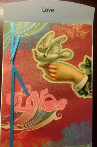 "LOVE CARD Girlfriend Boyfriend ""LOVE...is All WE Need"" Wife-Husband  78P"