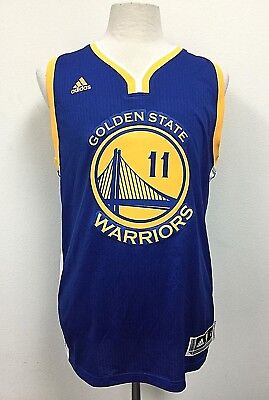 202d4a9c51a2 Golden State Warriors adidas NBA Swingman Road Jersey Klay Thompson  11 Size  L
