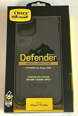 OtterBox DEFENDER SERIES Case for iPhone 11 Pro Max with Holster Clip - Black