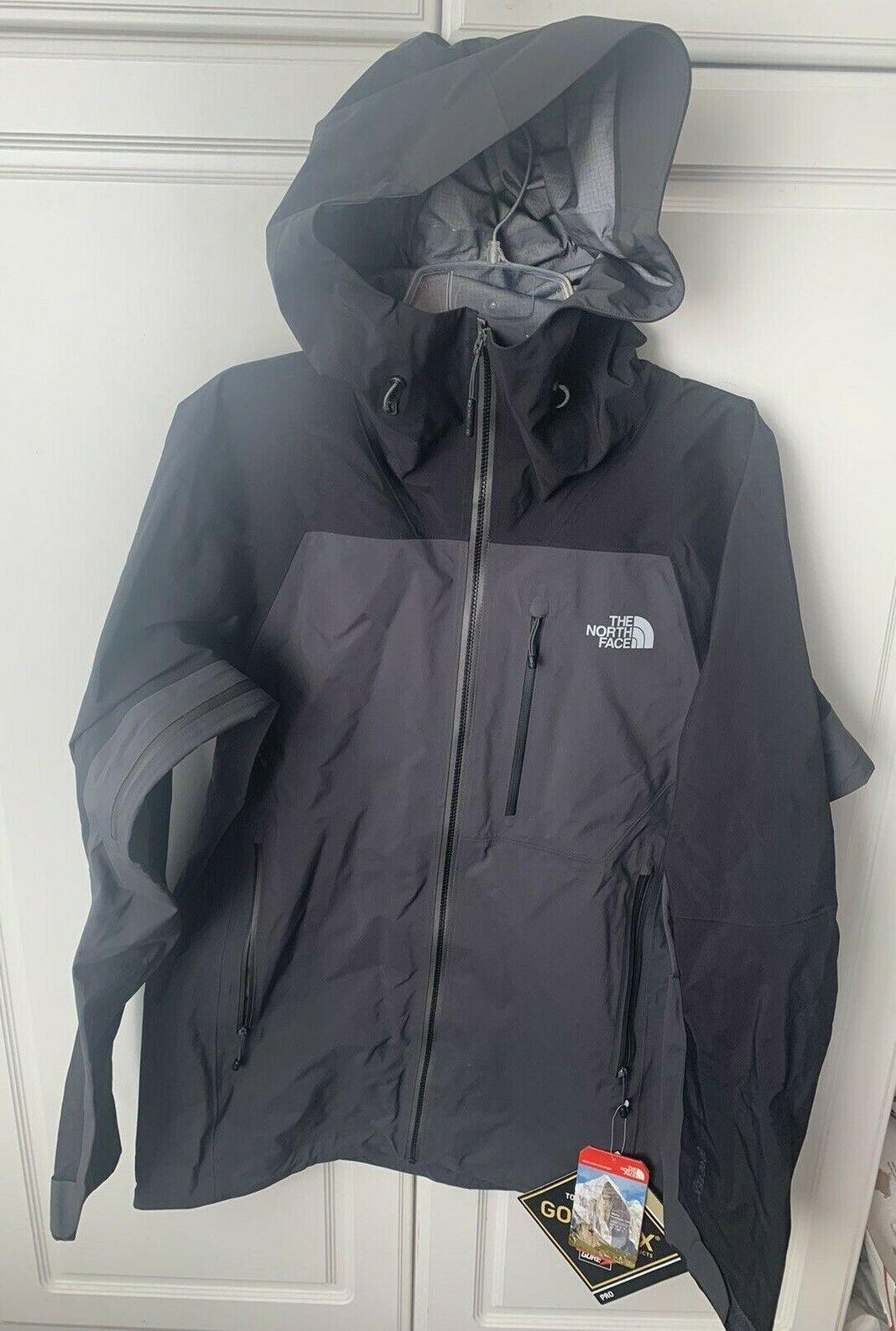 The North Face TNF Zero Gully Men's Hoody Jacket Gray Gore-T