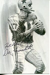DANDY DON MEREDITH NFL FOOTBALL / ACTOR SIGNED AUTOGRAPHED PHOTO AUTOGRAPH