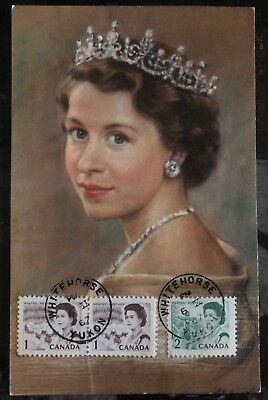 1967 Whitehorse Canada Picture Postcard Cover PPC Her Majesty Queen Elizabeth for sale  Shipping to India