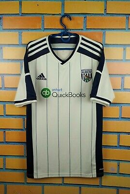 West Brom Albion Jersey 2014 2015 Home M Shirt M62503 Soccer Adidas Football  image