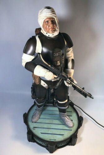 *RARE* MYC Sculptures Disney Star Wars Dengar Statue Light-Up Base 1/4 Scale #57