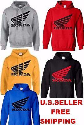 Honda Hoodie Racing Sweatshirt Hoody Pullover Motorcycle Hrc Cr Cbr Crf 1000