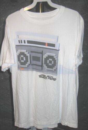 The Black Eyed Peas Classic White The Radio/The Black Eyed Peas Large T-Shirt