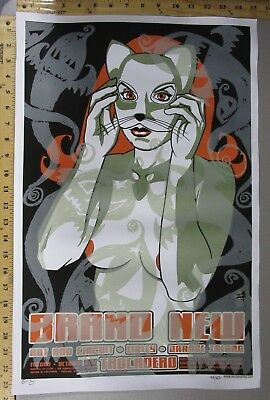 Halloween Rock Concert (03 Rock Concert Poster Brand New Hot Rod Circuit Brian Ewing SN LE 350)